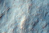 Area between Craters in Terra Cimmeria
