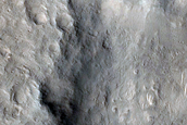 Rim of Du Martheray Crater