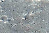 Candidate Recent Impact Site near Uranius Mons
