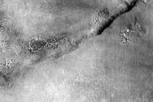 Ridge in Deuteronilus Mensae