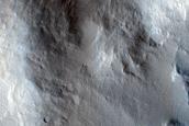 Large Dark Slope Streak in Amazonis Planitia