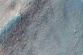 Gullies Emanating from Lobate Flow