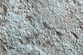 Floor of Milankovic Crater