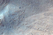Monitor Slope Features in Tivat Crater