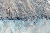 Steep Slopes in Juventae Chasma