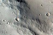 Terrain Sample in Tharsis Region