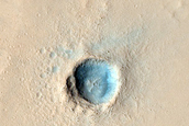 Very Fresh Small Impact Crater