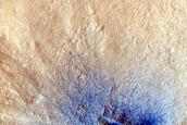 Fresh Small Crater in Arabia Terra