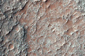 Lithologically Diverse Crater