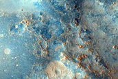 Cratered Terrain North of Syrtis Major
