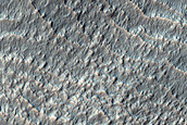 Ridges in Rabe Crater
