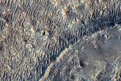 Mars2020 Landing Site in Jezero Crater