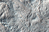 Flow near Reull Vallis