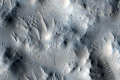 Crater Floor Deposit and Valley
