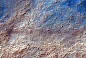 Layers in Crater in Hellas Planitia
