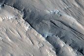 Ridges and Yardangs South of Lycus Sulci