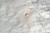Crater in Terra Sirenum