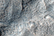 Layers and Bands near Dao Vallis