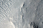 Channel in Hill near Athabasca Valles