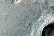 Flow From Crater Wall in Terra Sirenum
