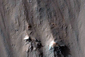 Northern Wall of Coprates Chasma
