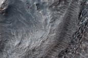 Ridges South of Harmakhis Vallis
