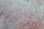 Candidate New Impact near Tithoniae Catenae