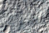 Monitor Slopes of 5-Kilometer Diameter Impact Crater