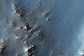 Phyllosilicate-Rich Terrain West of Nili Fossae