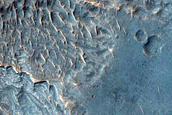 Light Toned Layering on Plains West of Juventae Chasma