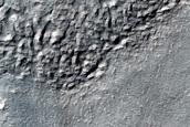 Ribbed Terrain near Reull Vallis