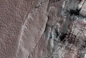 Monitoring of Steep Scarp in North Polar Layered Deposits Interior