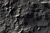 Massif Exposure North of Hellas Planitia
