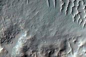 Monitor Slopes of Rayed 6-Kilometer Diameter Crater