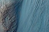 Monitor Slopes of Hebes Chasma