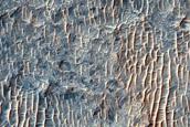 Fractured Crater Floor