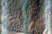 Gully Monitoring in Dunkassa Crater