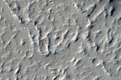 Candidate Recent Impact Site