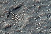 Mare-Type Ridge in Crater Floor Material