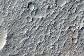 Crater Floor in Lunae Planum