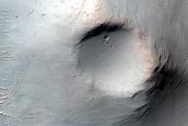 Cratered Cone in Terra Cimmeria