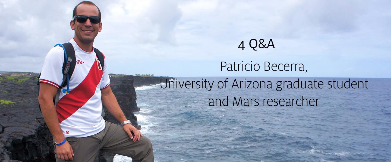 4Q&A: Patricio Becerra