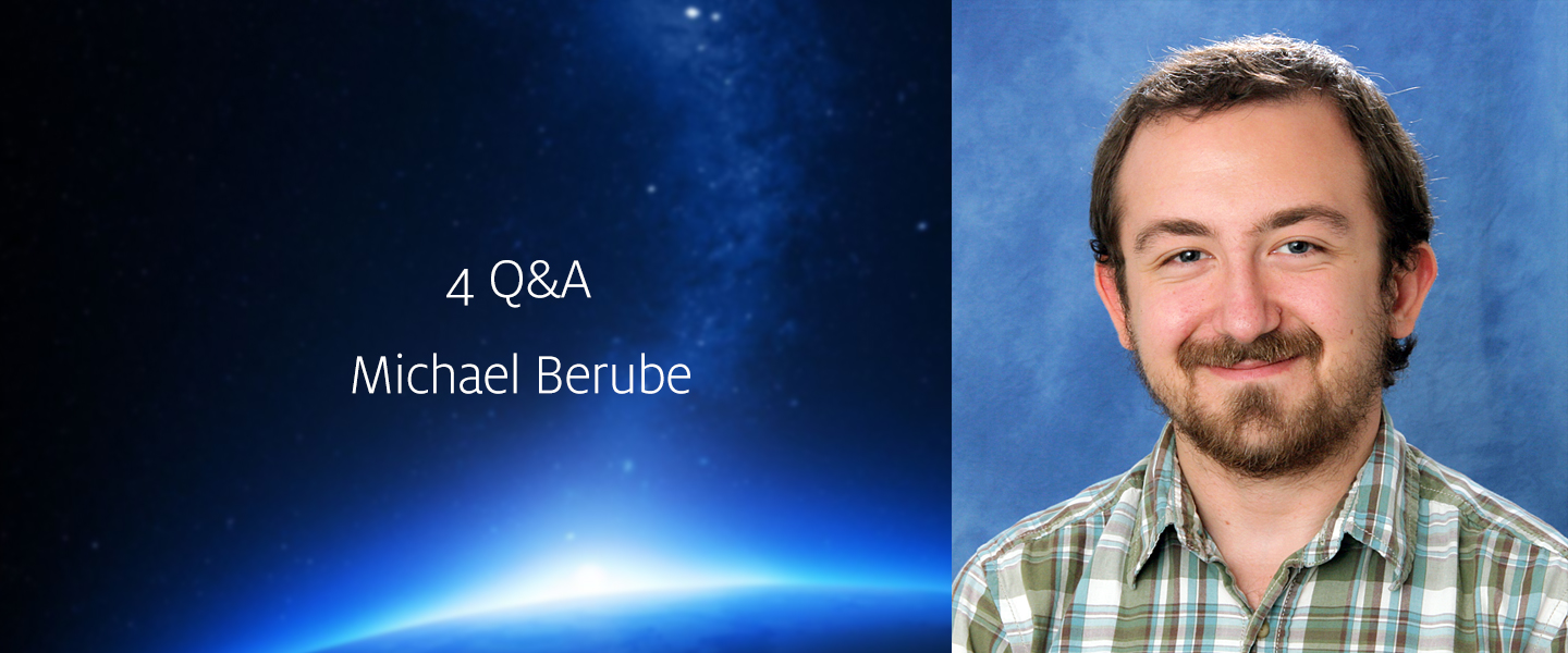 Interview with HiRISE student Michael Benrube