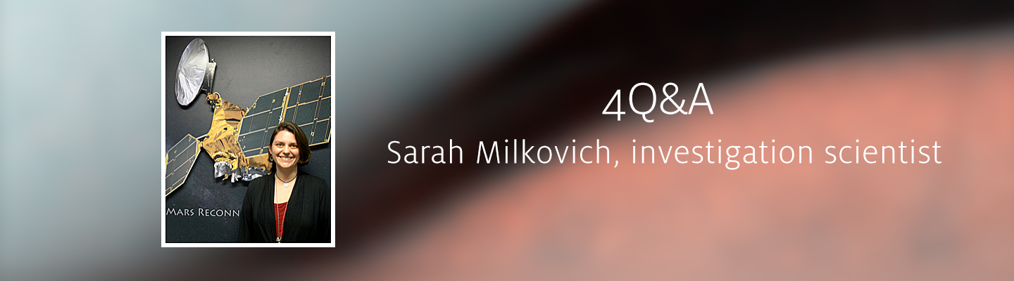 Interview with team member Sarah Milkovich