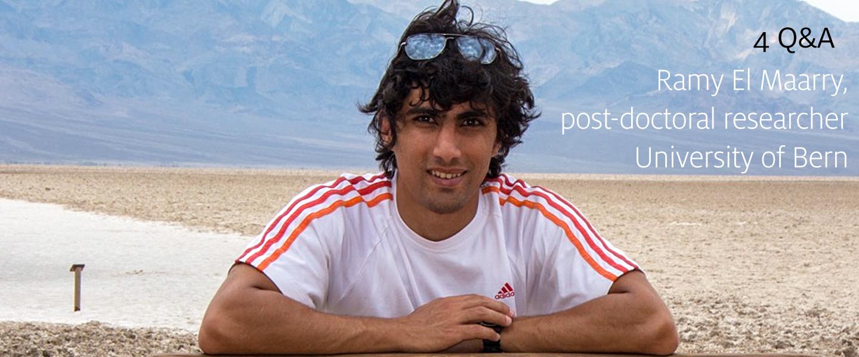 4Q&A: Ramy El Maarry, University of Bern post-doc
