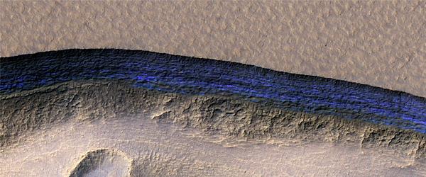 Steep Scarps, Buried Ice