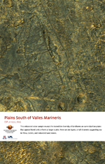 Plains South of Valles Marineris