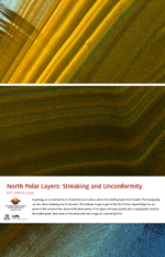 North Polar Layers: Streaking and Unconformity