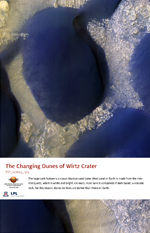 The Changing Dunes of Wirtz Crater