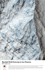 Banded Wall Outcrop in Ius Chasma